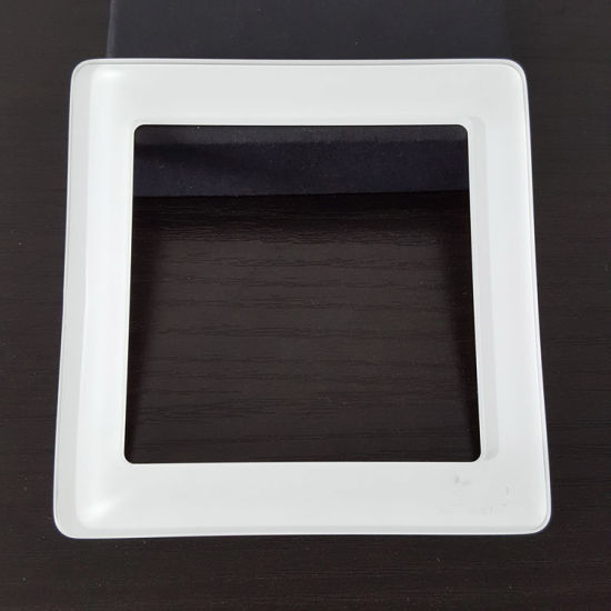 OEM Tempered Glass Switch Panel with Round Edge Finish