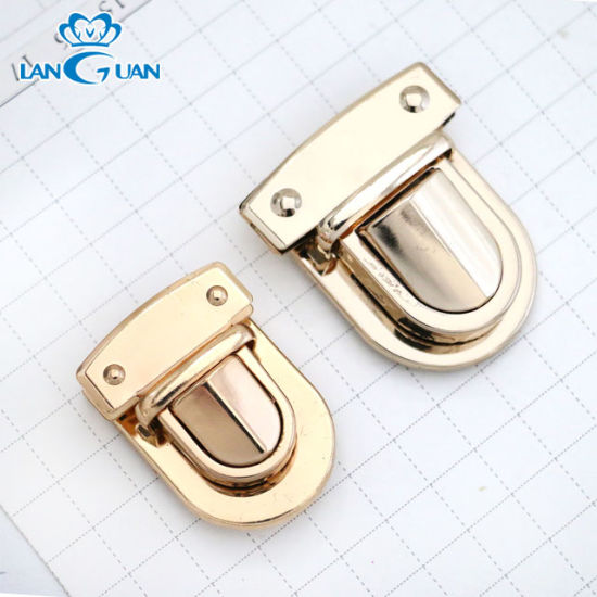 Hot Sale Alloy Bag Lock Hardware Twist Bag Lock pictures & photos