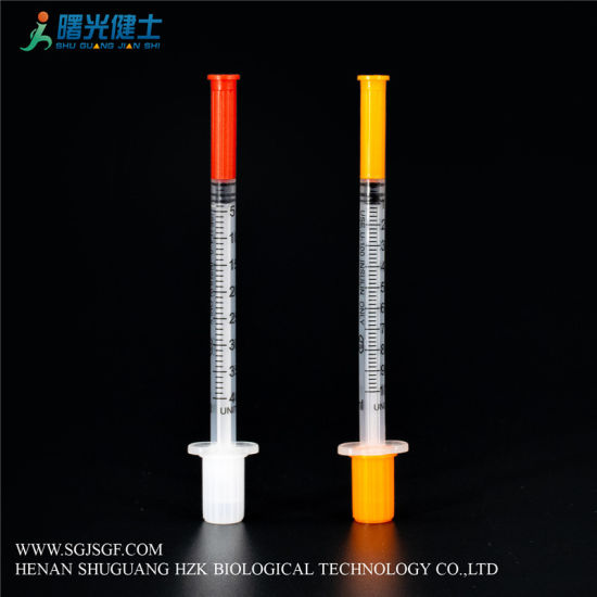 Disposable Medical Products Insulin Syringe Sterile CE&ISO U100