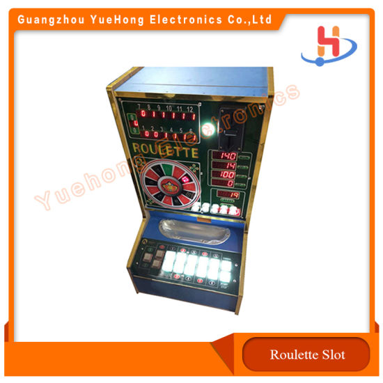 Roulette Gambling PCB Jackpot Arcade Casino Game Machine with Slot Cabinet for Sale