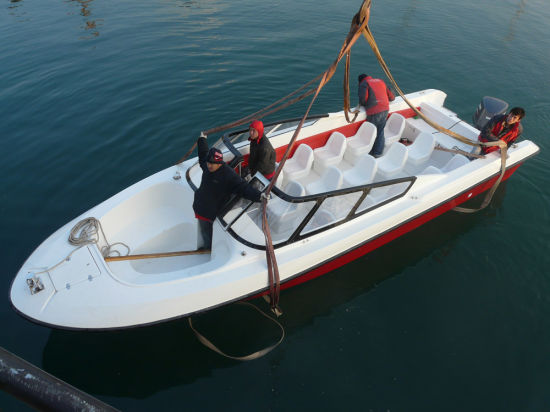 22persons Fiberglass Open Model Touring Boat for Sale pictures & photos