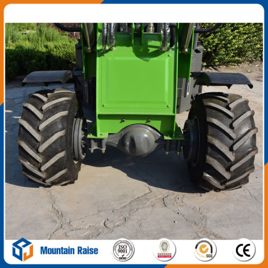 Ce Aproved 800kg Small Construction Equipment Mini Wheel Loader pictures & photos
