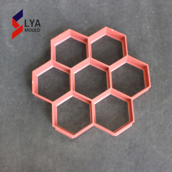Custom design Patio Pavers Silicone Molds Concrete Stepping Stone Mold