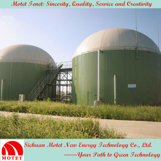 Roof Top Double Membrane Biogas Holder