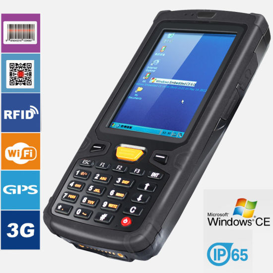 China Wince 6.0 Mobile Data Terminal with 512MB RAM 1d/2D Barcode ...
