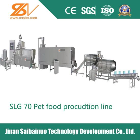 Ce Approved 140-600kg/H Dry Dog Food Making Machinery pictures & photos