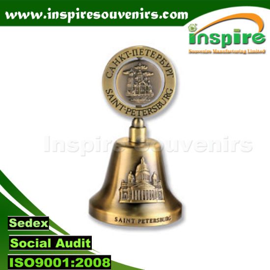 Customized Dinner Bell with Logo for Russia Souvenirs; Souvenir Bell pictures & photos