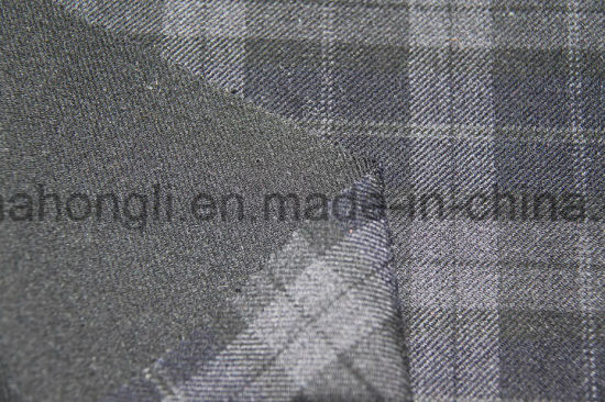 Yarn Dyed T/R Plaid Fabric, 63%Polyester 33%Rayon 4%Spandex, 260GSM pictures & photos