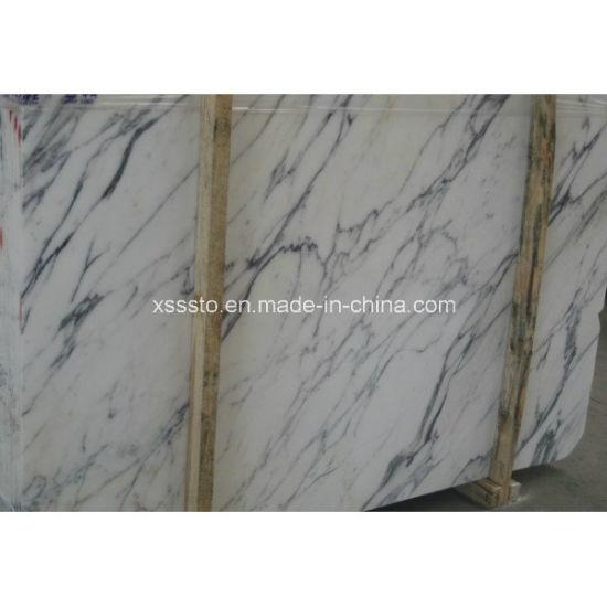 Natural Stone White Arabescato Vagli Marble Building Material