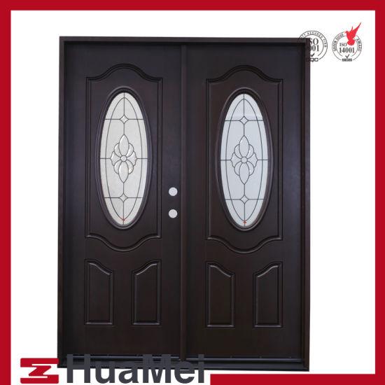 China Frp Grp Smc Door Fiberglass Door Woodgrain Texture Door And