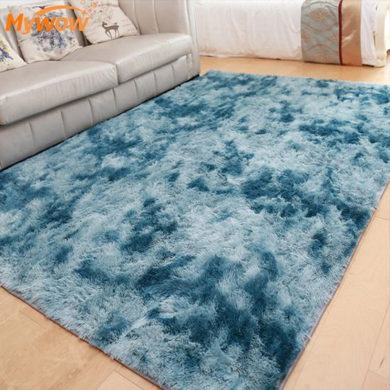 Household Modern Shaggy Cashmere Bedroom Play Sheep Fur Rug Carpet