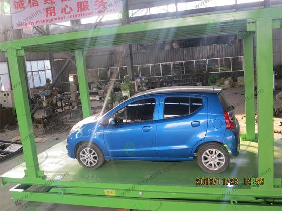 China Residential Pit Garage Smart Car Parking Lift - China