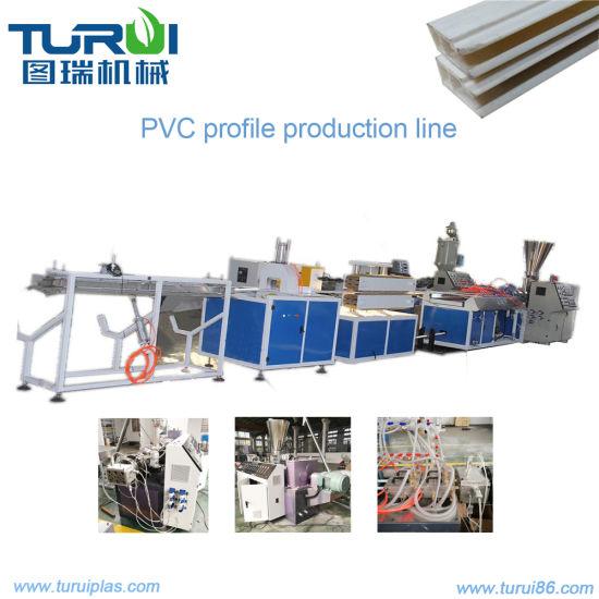 PVC Ceiling Panel Production Line Fast Speed Plastic Pipe Machine/Extruder Machine/PVC Profile Extrusion Machine/PVC Pipe Machine/PVC Pipe Production Line