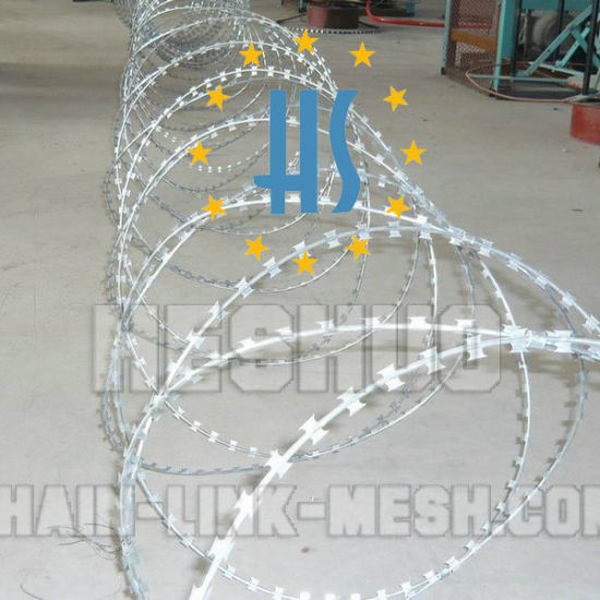 600mm Ss430 Razor Wire pictures & photos