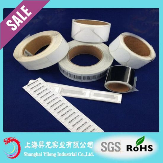 EAS RF Label 8.2MHz Soft Tags for Supermarket Anti-Theft EAS Tag EL12 pictures & photos