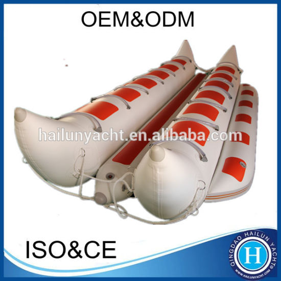 Hot Selling Inflatable Water Banana Boat for Sale