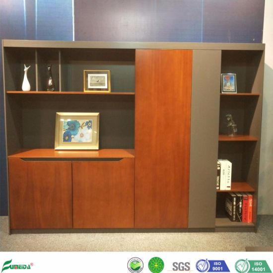 China Manufacturer New Design Storage Wooden Office Filing Cabinet (W199A) pictures & photos
