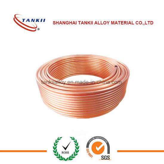 ASTM B280 Air Conditioner Copper Pipe Copper Tube