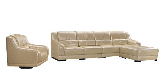 China Genuine Leather Corner Sofa for Sale - China Sofa ...