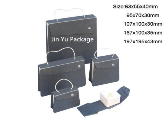 Made in China of USA Brand Purple Cardboard Gift Jewelry Boxes pictures & photos