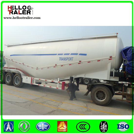Best Qualilty 2-3 Axles 20-90cbm Bulk Cargo Box Semi Trailer pictures & photos