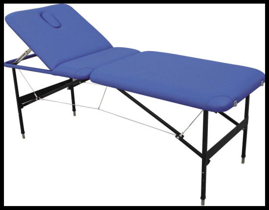 Hot Sale Metal Portable Massage Table (MT-1) for Acupuncture Health Beauty Medical Clinic pictures & photos