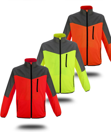 Comfortable Breathable Reflective Motorcycle Reflective Safety Sport Jacket