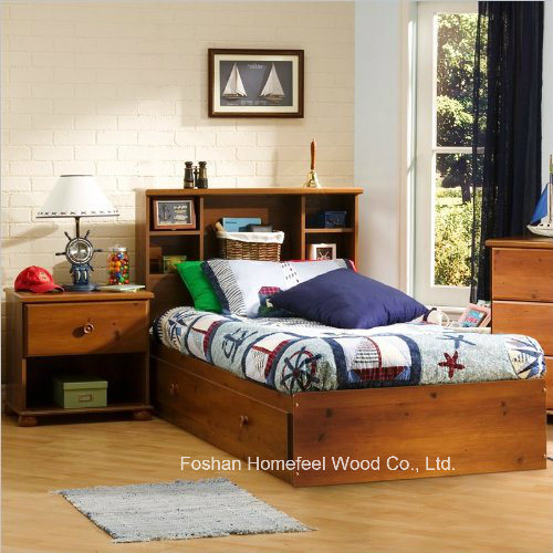 Kids Twin Mates Storage Bed 4 Piece Bedroom Set pictures & photos