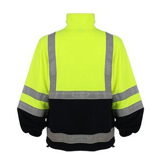 Winter Strip Yellow Safety Jacket pictures & photos