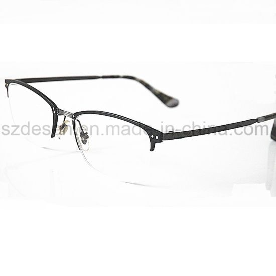 Low Price China Wholesale Commercial Half Rim Eyeglass Frame Optical ...