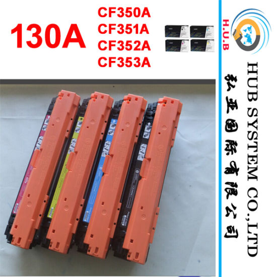 Genuine Toner Cartridge for HP 130A (CF350A, CF351A, CF352A, CF353A)
