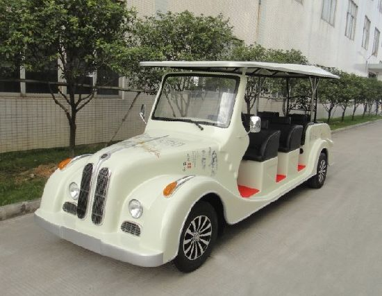 8 Seaters Electric Sightseeing Bus on Sale