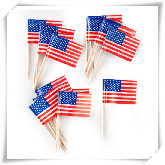Flag Toothpicks for Decoration (HY-08)