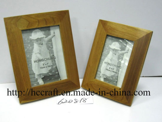 Natural Wood Photo Frame for Decoration pictures & photos
