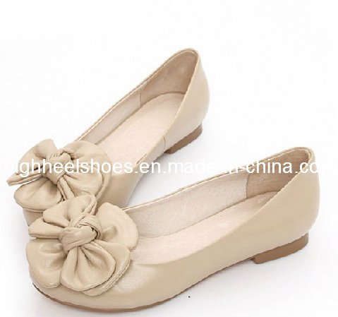 China New Design Flat Ladies Shoes (Hcy02-880) - China Ladies ... c0324d10d