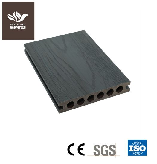Outdoor WPC Wood Plastic Composite UV Resistance Co-Extrusion Decking Board for Flooring