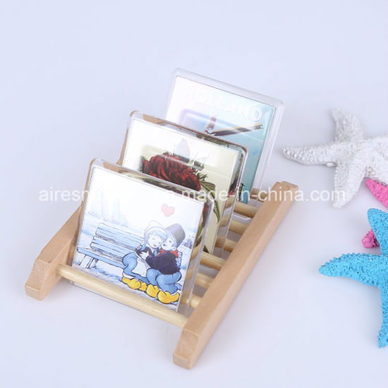 6.5X6.5cm Acrylic Photo Frame Fridge Magnet of Customized Printing pictures & photos