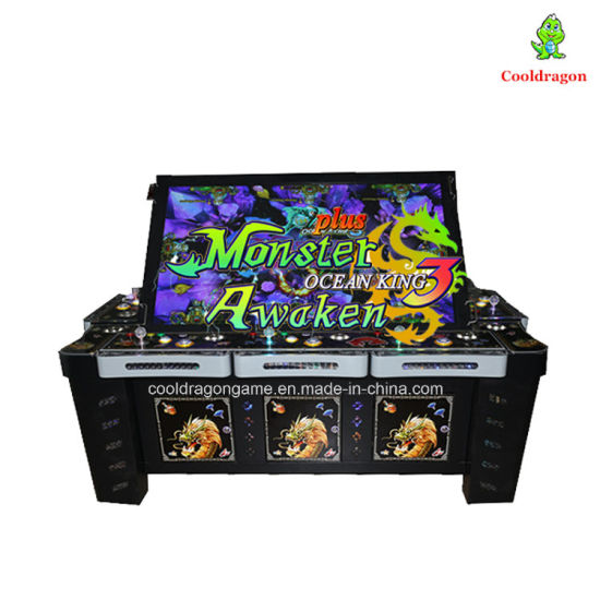 Coin Operated Machine Ocean King 3 Plus 8 Players Mini Fish Game Arcade  Table for Sale