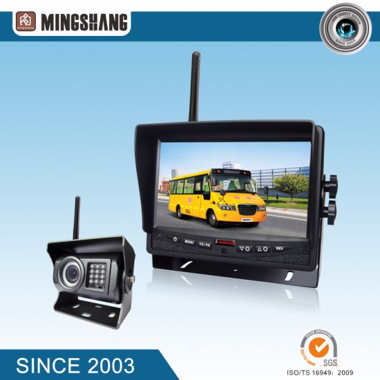 "Ce & E-MARK Wireless Security System, IP69k Car Reverse Camera with 7"" Car Monitor pictures & photos"