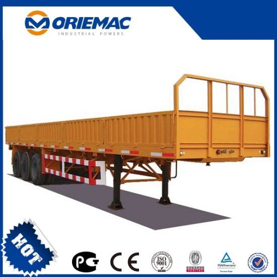 Semi Trailers 3 Axle Flatbed 13m 40 Ton for Sale pictures & photos