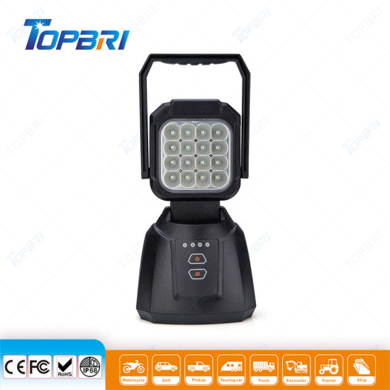 High-Quakeproof 16W LED Outdoor Truck Warning Light