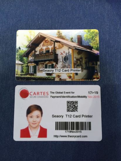 College Office Employee ID Card Printer pictures & photos