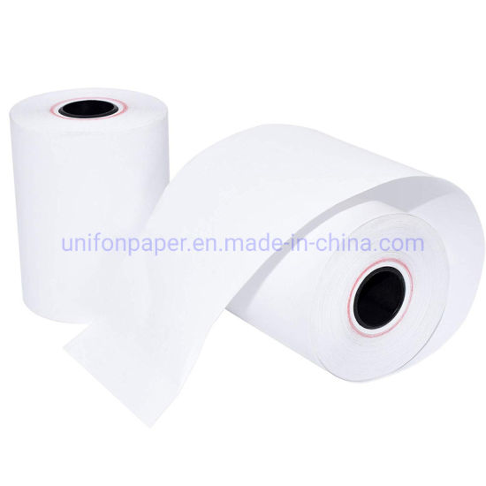 57*50mm Printing Direct Thermal Jumbo Paper Roll