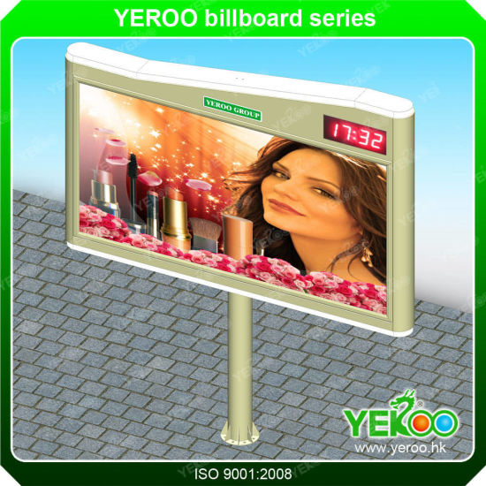 Outdoor Street Advertising Sign Board Furniture Steel Structure Billboard pictures & photos