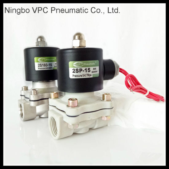 Stainless Steel 2/2 Way Pilot Solenoid Valves pictures & photos