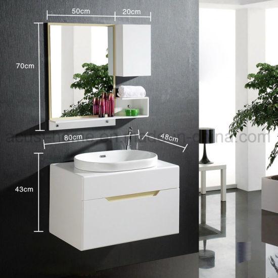 China Hot Selling Modern Design Plywood Sanitary Ware Bathroom Cabinets Acs1 L50 China Bathroom Cabinets Sanitary Ware