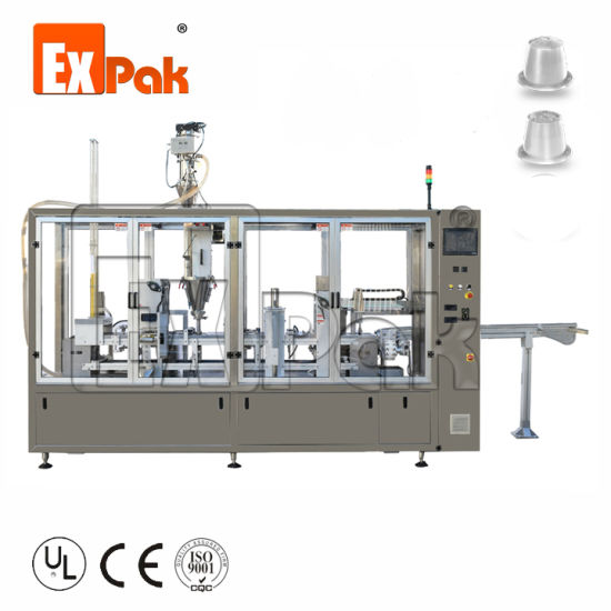 Wholesale China Products Automatic Coffee Capsule Cup Filling Sealing Machine