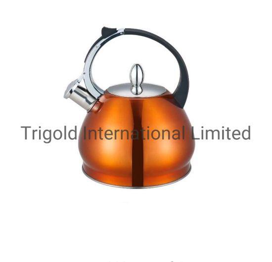 High Quality Stainless Steel Whistling Kettle Water Kettles Tgk2965