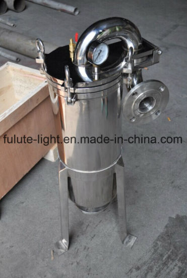 Stainless Steel Chemical Bag Filter Housing