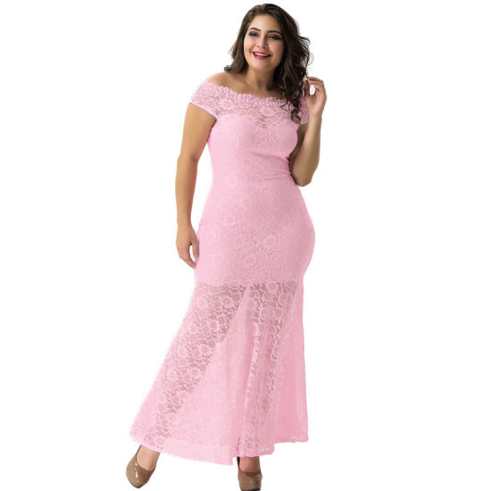 Hot Sale Women Slim Sexy Long Evening Dress pictures & photos